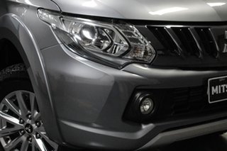 2018 Mitsubishi Triton MQ MY18 GLS Double Cab Titanium 6 Speed Manual Utility.