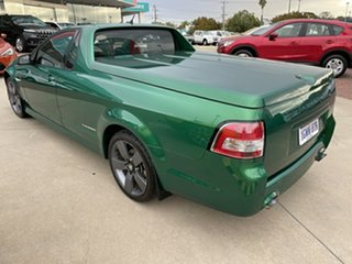 2011 Holden Commodore VE II SV6 Thunder Green 6 Speed Manual Utility