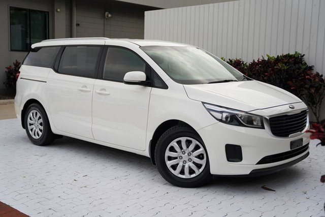 Used Kia Carnival YP MY17 S Cairns, 2017 Kia Carnival YP MY17 S White 6 Speed Sports Automatic Wagon