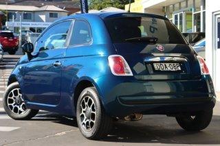 2015 Fiat 500 Series 3 POP Blue 5 Speed Manual Hatchback.