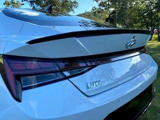 2021 Hyundai i30 CN7.V1 MY21 N Line Polar White 6 Speed Manual Sedan
