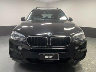 2016 BMW X5 F15 xDrive30d Black Sapphire 8 Speed Sports Automatic Wagon.