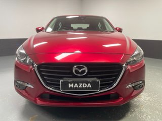 2018 Mazda 3 BN5478 Maxx SKYACTIV-Drive Sport Red 6 Speed Sports Automatic Hatchback.