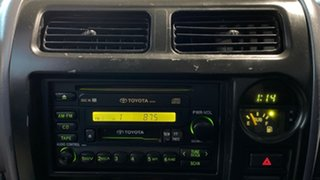 2001 Toyota Landcruiser Prado KZJ95R RV White 5 Speed Manual Wagon