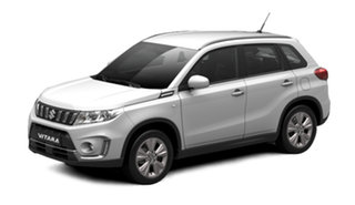 2021 Suzuki Vitara LY Series II 2WD White Pearl 6 Speed Sports Automatic Wagon