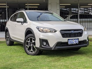 2018 Subaru XV G5X MY19 2.0i Lineartronic AWD White 7 Speed Constant Variable Wagon.