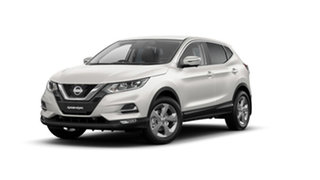 2020 Nissan Qashqai J11 Series 3 MY20 ST+ X-tronic Ivory Pearl 1 Speed Constant Variable Wagon.