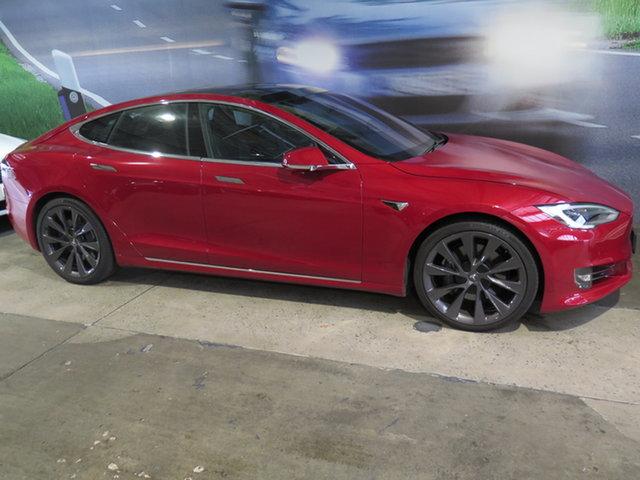 Used Tesla Model S MY18 75D Osborne Park, 2018 Tesla Model S MY18 75D Red 1 Speed Automatic Hatchback