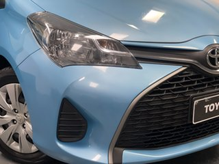 2015 Toyota Yaris NCP130R Ascent Blue 4 Speed Automatic Hatchback.