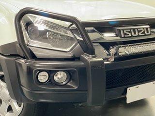 2017 Isuzu D-MAX MY17 LS-M Crew Cab White 6 Speed Manual Utility.