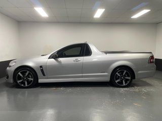 2016 Holden Ute VF II MY16 SV6 Ute Black Silver 6 Speed Sports Automatic Utility