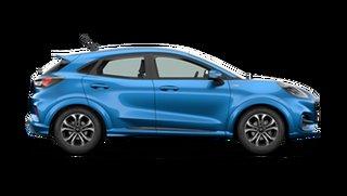 2021 Ford Puma JK 2021.25MY ST-Line Desert Island Blue 7 Speed Sports Automatic Dual Clutch Wagon.