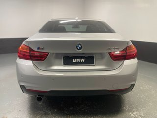 2014 BMW 4 Series F32 420i M Sport Silver 8 Speed Sports Automatic Coupe