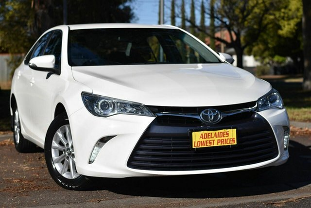 Used Toyota Camry ASV50R Altise Enfield, 2017 Toyota Camry ASV50R Altise White 6 Speed Sports Automatic Sedan