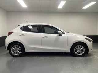 2016 Mazda 2 DJ2HA6 Maxx SKYACTIV-MT White 6 Speed Manual Hatchback