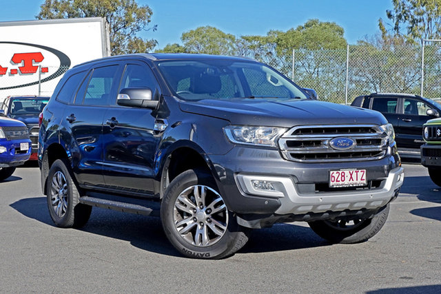 Used Ford Everest UA Trend Ebbw Vale, 2017 Ford Everest UA Trend 6 Speed Sports Automatic SUV
