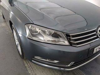 2013 Volkswagen Passat Type 3C MY14 118TSI DSG Grey 7 Speed Sports Automatic Dual Clutch Sedan.