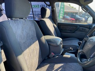 2002 Toyota Landcruiser HZJ105R GXL Green 5 Speed Manual Wagon