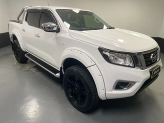 2016 Nissan Navara D23 S2 ST White 6 Speed Manual Utility.