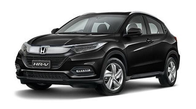 New Honda HR-V MY21 VTi-S Hamilton, 2020 Honda HR-V MY21 VTi-S Crystal Black 1 Speed Constant Variable Hatchback