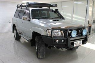 2011 Nissan Patrol GU 7 ST Silver 4 Speed Automatic Wagon.