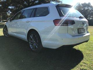 2020 Volkswagen Passat B8 140TSI Business Pure White 7 Speed Semi Auto Wagon.