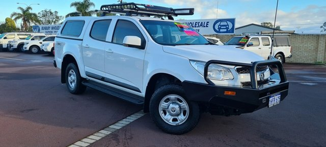 Used Holden Colorado RG MY16 LS Crew Cab East Bunbury, 2016 Holden Colorado RG MY16 LS Crew Cab White 6 Speed Sports Automatic Utility