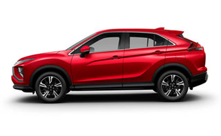 2020 Mitsubishi Eclipse Cross YB MY21 ES 2WD Red Diamond 8 Speed Constant Variable Wagon