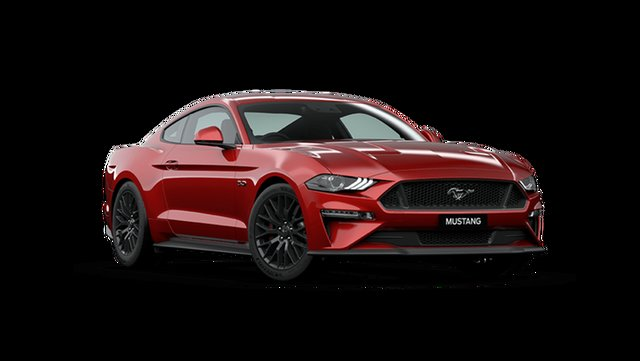 New Ford Mustang FN 2020MY GT Cardiff, 2020 Ford Mustang FN 2020MY GT Rapid Red 10 Speed Sports Automatic Fastback