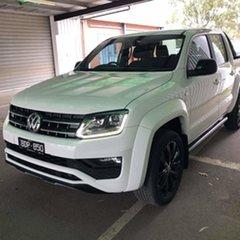 2019 Volkswagen Amarok 2H MY19 TDI580 4MOTION Perm Highline Black Candy White 8 Speed Automatic.