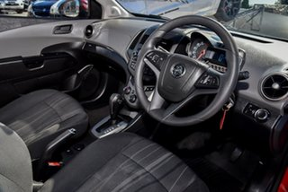 2014 Holden Barina TM MY15 CD Blaze Red 6 Speed Automatic Hatchback