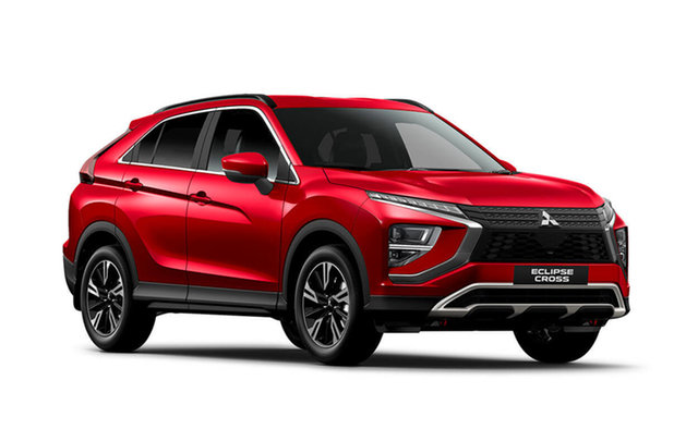 Demo Mitsubishi Eclipse Cross YB MY21 LS 2WD Hamilton, 2021 Mitsubishi Eclipse Cross YB MY21 LS 2WD Red Diamond 8 Speed Constant Variable Wagon