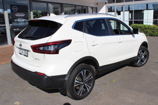 2019 Nissan Qashqai J11 Series 3 MY20 ST-L X-tronic Ivory Pearl 1 Speed Constant Variable Wagon.