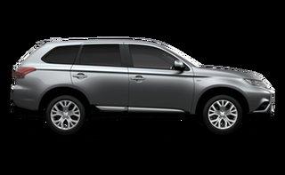 2021 Mitsubishi Outlander ZL MY21 ES 2WD Sterling Silver 5 Speed Manual Wagon.