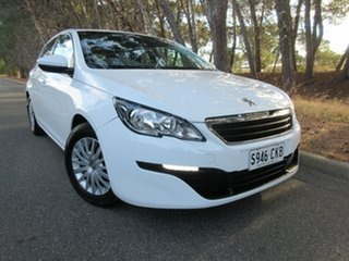 2014 Peugeot 308 T9 Access Bianca White 6 Speed Manual Hatchback.