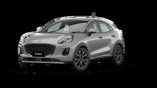 2021 Ford Puma JK 2021.25MY Puma Solar Silver 7 Speed Sports Automatic Dual Clutch Wagon
