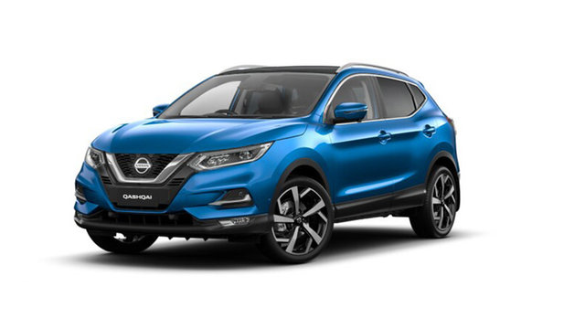 New Nissan Qashqai J11 Series 3 MY20 Ti X-tronic Hamilton, 2021 Nissan Qashqai J11 Series 3 MY20 Ti X-tronic Vivid Blue 1 Speed Constant Variable Wagon