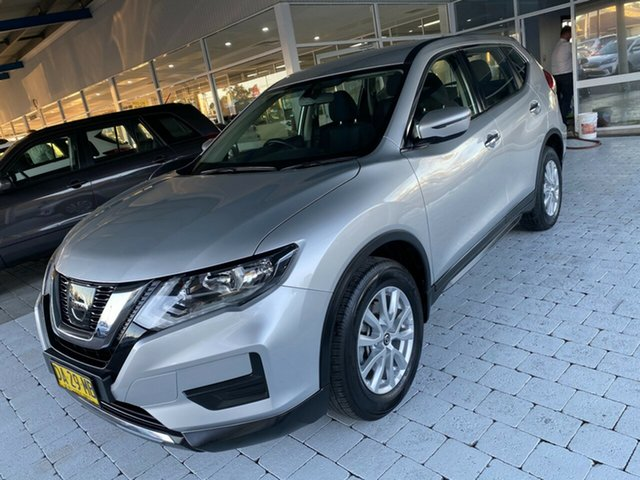 Used Nissan X-Trail ST Taree, 2019 Nissan X-Trail ST Silver Constant Variable Wagon