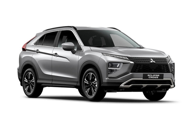 New Mitsubishi Eclipse Cross YB MY21 LS 2WD Hamilton, 2021 Mitsubishi Eclipse Cross YB MY21 LS 2WD Sterling Silver 8 Speed Constant Variable Wagon