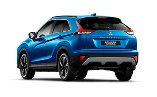 2020 Mitsubishi Eclipse Cross YB MY21 LS AWD Lightning Blue 8 Speed Constant Variable Wagon