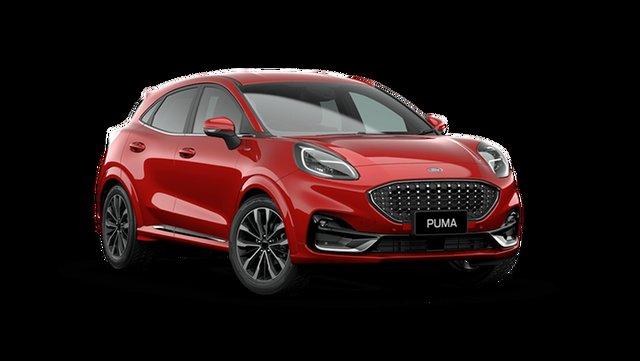 New Ford Puma JK 2021.25MY ST-Line V Cardiff, 2021 Ford Puma JK 2021.25MY ST-Line V Fantastic Red 7 Speed Sports Automatic Dual Clutch Wagon