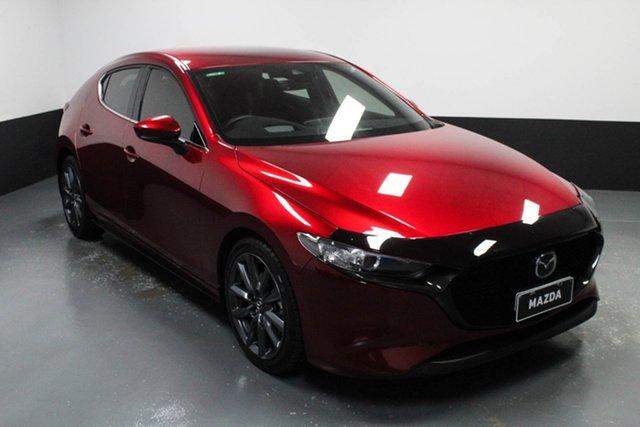 Used Mazda 3 BP2HLA G25 SKYACTIV-Drive GT Hamilton, 2019 Mazda 3 BP2HLA G25 SKYACTIV-Drive GT Red 6 Speed Sports Automatic Hatchback
