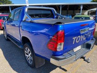 2015 Toyota Hilux GUN126R SR5 Double Cab Blue 6 Speed Manual Utility.