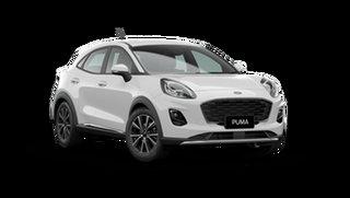 2021 Ford Puma JK 2021.25MY Puma Frozen White 7 Speed Sports Automatic Dual Clutch Wagon.