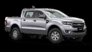 2021 Ford Ranger PX MkIII XLS Aluminium Silver 6 Speed Automatic Pick Up.