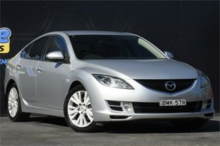 2009 Mazda 6 GH1051 MY09 Classic Silver 5 Speed Sports Automatic Hatchback.