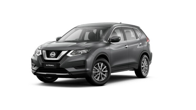 New Nissan X-Trail T32 MY21 ST X-tronic 2WD Hamilton, 2021 Nissan X-Trail T32 MY21 ST X-tronic 2WD Gun Metallic 7 Speed Constant Variable Wagon