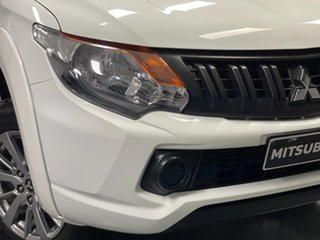 2018 Mitsubishi Triton MQ MY18 GLX+ Club Cab White 5 Speed Sports Automatic Utility.