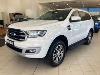 2020 Ford Everest UA II 2020.75MY Trend Cool White 6 Speed Sports Automatic SUV.