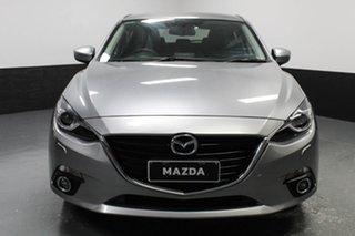 2014 Mazda 3 BM5438 SP25 SKYACTIV-Drive GT Silver 6 Speed Sports Automatic Hatchback.